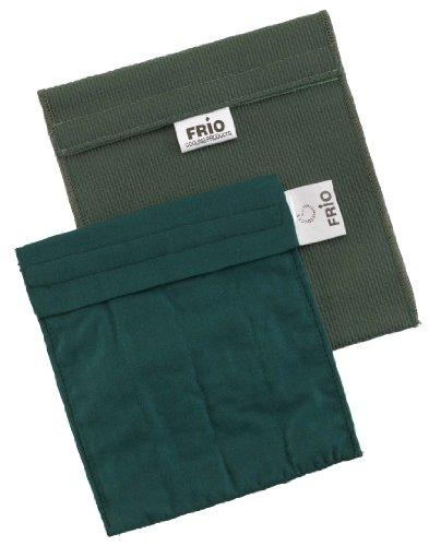 Frio Kleine koeltas voor Insulin, 14 x 15 cm groen