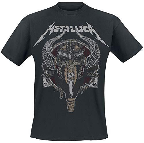 Metallica Viking Camiseta Negro XL