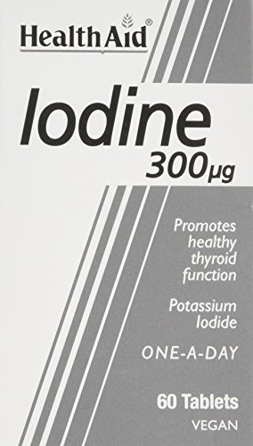 HealthAid Iodine 300mcg 60 Vegan Tablets