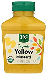 365 by Whole Foods Market, Organic Mustard, Yellow, 8 Ounce