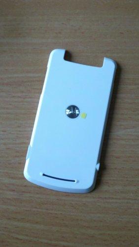 Motorola original Akkudeckel Akkufachdeckel Cover Batterycover Backcover Gehäuse Oberschale Gleam EX211 weiß, White