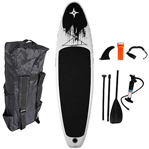 MXA Juego de Tablas de Surf hinchables de Paddle Surf de Tablas de Surf Todo Incluido, Mochila de Paleta con Bomba de Aire, para Todos los Niveles de Habilidad para niños Adultos Principiantes
