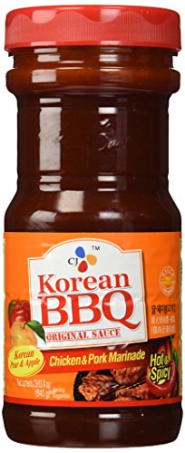 CJ Korean BBQ Original Sauce Chicken & Pork Marinade 29.63 Ounce (Pack of 1)