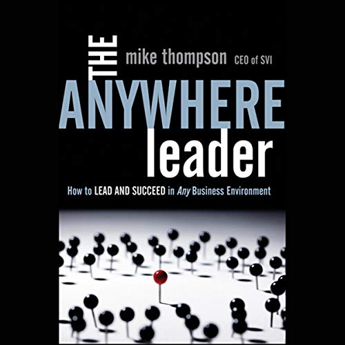 The Anywhere Leader audiobook cover art