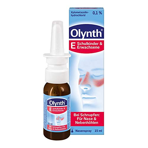 Olynth 0,1{8dcacb70fccfa7b0bb0b863b35d8afc2a52bd9d41d0f9566875145e2cd877cbc} f�r Erwachsene Nasendosierspray, 15 ml