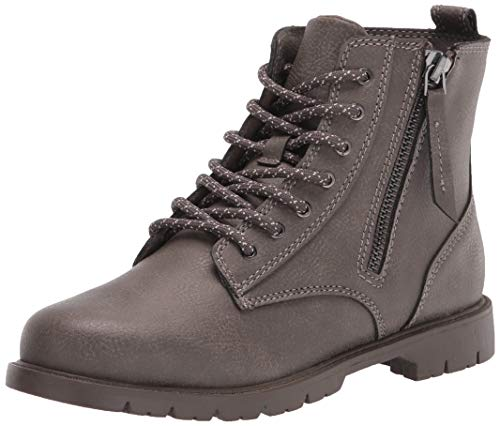 Amazon Essentials Kids' Ankle Boot, Brown, 3 Medium US Little Kid