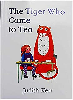 The Tiger Who Came to Tea By Judith Kerr Educational English Picture Book Learning Card Story Book For Baby Kids Children ...