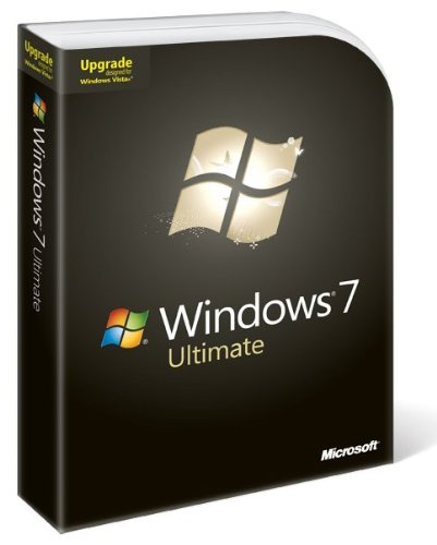 Microsoft Windows 7 Ultimate, DVD, Upgrade, EN