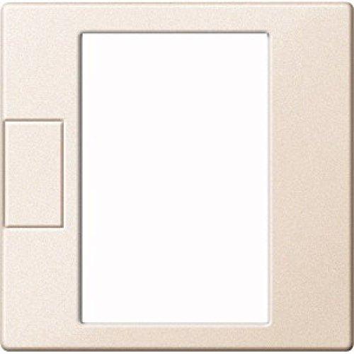 Merten MEG5775-0444 Zentralpl. f. Universal Temperaturregler-Eins. m. Touch-Display, weiß, System M