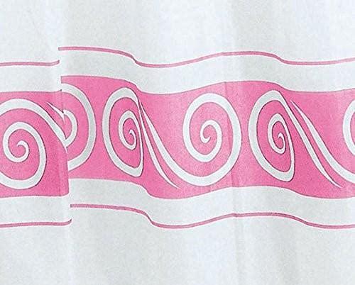 Gedy Duschvorhang g-ricciolo Pink 180x 200(6018772930)