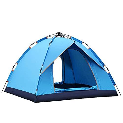 SSG Home Utilisation Multiple Sports de Plein air Tente Camping Épaississement extérieur Automatique Crème Solaire Anti-Pluie Intérieur Tente Pliante Coupe-Vent Respirant Équipement d'extérieur