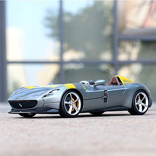 WAWAYU Car Model, Ferrari Monza Sp1 Car Model 1:18 Simulation Alloy Car Model Collection Gift Ornaments