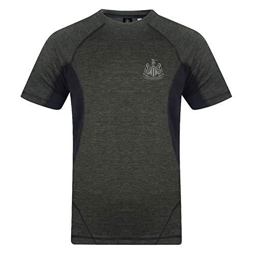 Newcastle United FC T-Shirt für Herren, Tech-Trainingsset, offizielles Fußball-Geschenk Gr. XL, grün