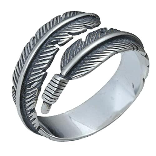 TOSSPER 1pc Personalisierte -Entwurfs-Metall Offen Ring Ring-knöchel-Ring Damen Schmuck