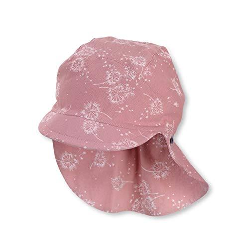 Sterntaler Baby Mädchen Schirmmátze M. Nackenschutz 1422122 Winter Hut, rosa, 49 EU