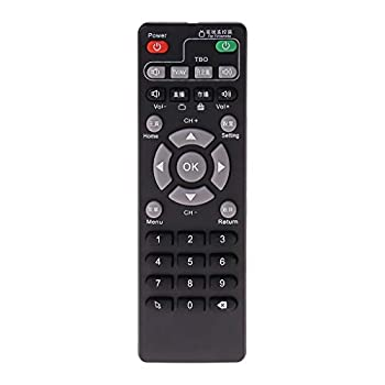 WANGYUMI Remote Holder Set-Top Box Learning Remote Control for Unblock Tech Ubox Smart TV Box Gen 1/2/3