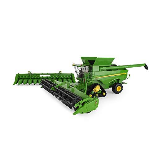 Britains- John Deere S780-Tractor Coleccionable, Compatible con Animales de Granja y Juguetes a Escala 1:32, Apto para coleccionistas y niños a Partir de 14 años (Tomy 45674)