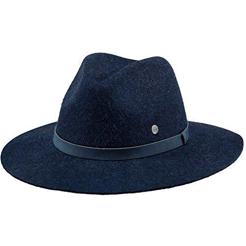 Barts Damen Fedora Avery Hat, Blau (Blu Con Nastro Blu), M