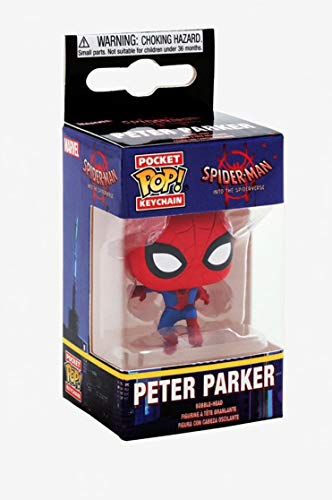Product Image 5: Funko Pop Keychain: Animated Spider-Man Movie – Spider-Man Collectible Figure, Multicolor