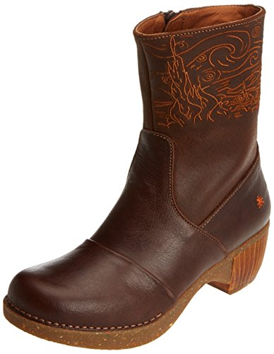 art Damen ZUNDERT Stiefel, Braun (Memphis-Wax Brown 1016), 39 EU