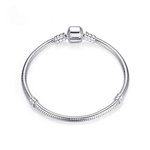PANDACHARMS Mädchen 925 Silber Armband für Charms, Länge 16cm, passt zu Pandora