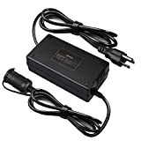 AstroAI AC to DC Converter, 15A/110Vto12V DC/180W/8.25FT, Car Cigarette Lighter Socket AC/DC Power Supply Adapter Transformer for Inflator, Car Refrigerator, and Other Car Devices