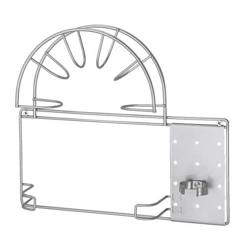 IKEA VARIERA -Vakuum- Schlauchhalter silberfarben
