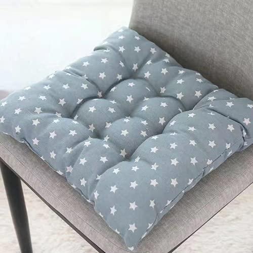 JDHANNE Cojín grueso de lino y algodón para sala de estar, sofá, cojín adecuado para dormitorio, oficina, silla