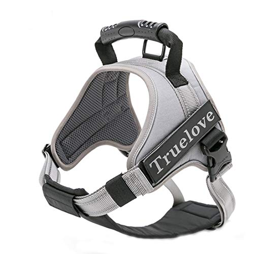 Truelove Dog Harness No-Pull Reflective Stitching Ensure Night Visibility Outdoor Adventure Big Dog Harness Perfect Match Puppy Vest TLH5753 Now Available in 6 Colors 6 Sizes