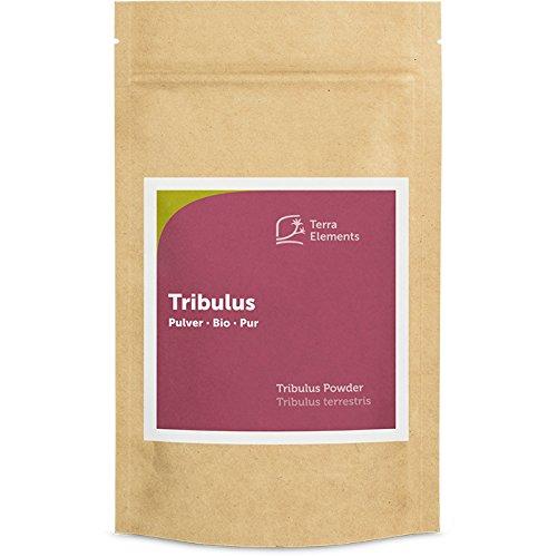 Terra Elements Bio Tribulus Pulver, 100 g I Tribulus terrestris I Erd-Burzeldorn I 100% rein I Vegan I Rohkost