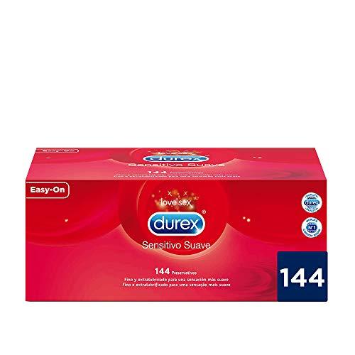 Durex Preservativos Ultrafinos Sensitivo Suave - 144 Condones
