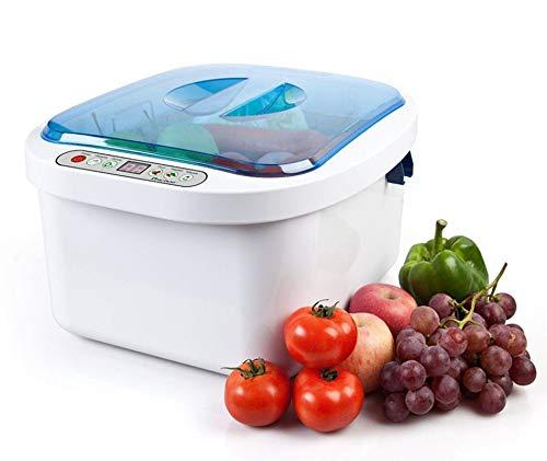 12.8L Home Use Ultrasonic Ozone Vegetable Fruit Sterilizer Cleaner Washer