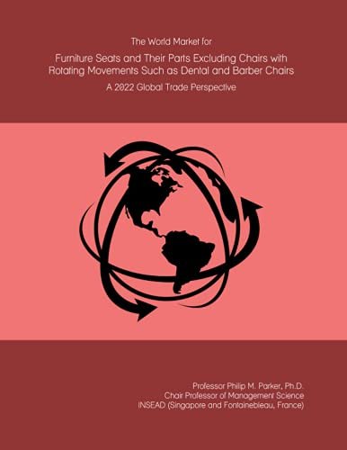 The World Market for Furniture Seats and Their Parts Excluding Chairs with Rotating Movements Such as Dental and Barber Chairs: A 2022 Global Trade Perspective