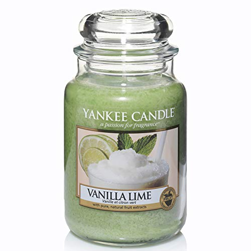 Yankee Candle Scented Candle | Vanilla Lime Large Jar Candle | Burn Time: Up to 150 Hours
