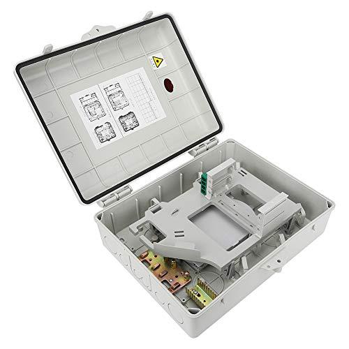 Surebuy Caja de terminales ópticas, Caja divisoria óptica Antipolvo, para terminales ópticas Industria doméstica para Fibra óptica