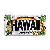 MNUT Placa de matrícula hawaiana de Island Hula Honeys Hawaii Novelty de 15,2 x 30,48 cm