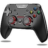 「2020最新版」switch コントローラー Nintendo switch対応 無線 プロコントローラー 連射 HD振動 ジャイロセンサー搭載 Bluetooth接続 スイッチ コントローラー DinoFire プロコン switch proコントローラー 技適承認取得