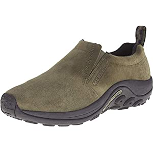 Merrell Men's Jungle Moc Slip-On Shoe, Dusty Olive, 8 M US