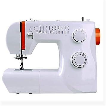 ZHEYANG Maquinas de Coser Maq de Coser Máquina de Coser portátil para Principiantes, Herramienta de Costura eléctrica para Principiantes, Costura casera, Manualidades, Costura DIY Model:G0825