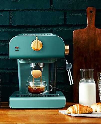 Automatyczna ekspres do kawy espresso z wbudowanym mlekiem frothere Ekspres do kawy Vintage design Equipment Coffee (Color : Vintage design)