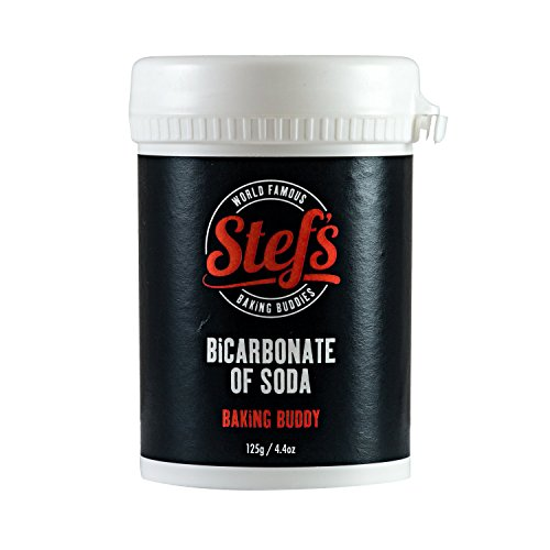 Stefs Bicarbonate of Soda - Professional Grade - 125g/4.4oz Tub