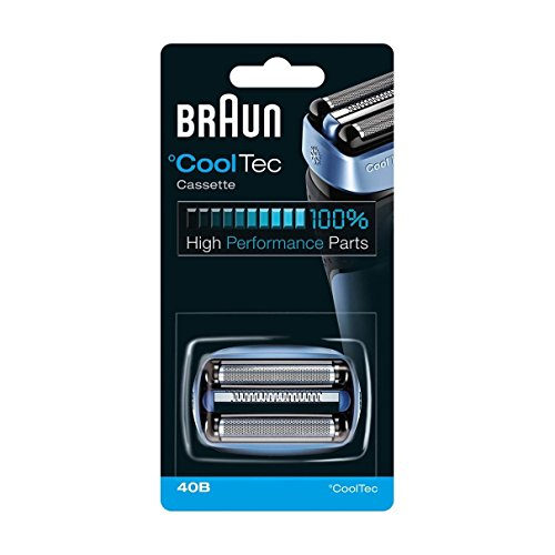 Braun 40B - Cabezal de cuchilla de repuesto para maquinillas de afeitar CoolTec