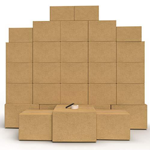 Moving Boxes - Cheap Cheap Moving Boxes (30 Boxes with Supplies)