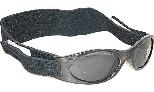 Eseno Edz Kidz Herren Sonnenbrille schwarz jet black Black
