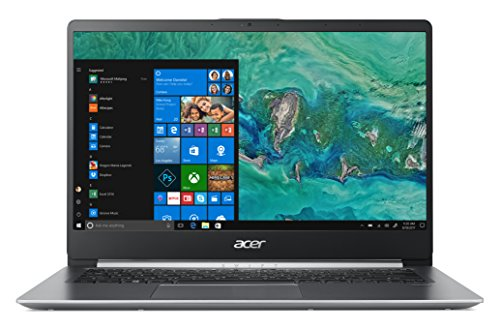 Acer Swift 1 SF114-32-P56T Notebook con Processore Intel Pentium Silver N5000, Ram da 4 GB, 128 GB SSD, Display 14' FHD IPS LED LCD, Scheda grafica UHD 605, Windows 10 Home, Silver Tastiera IT