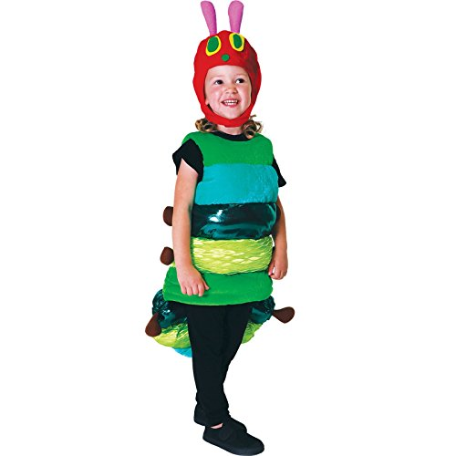 Kleine Raupe Nimmersatt Premium Raupe Kostüm Babys Unisex Amscan