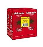 Orlando tomate frito Pack 4 Brik x 350 g