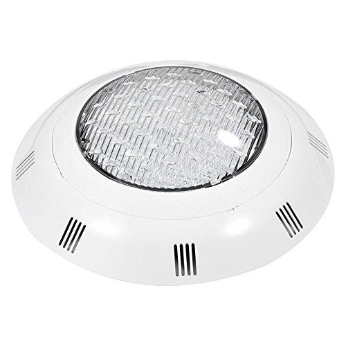 Unterwasser Beleuchtung, Asixx LED Unterwasserscheinwerfer mit Fernbedienung 360 SMD LED Perlen 100{bae32362bf5b485ecbd4950b11c2d111d8513a91eb646987b1433155c46c2f48} Wasserdicht für Swimmingpool, 12V/ 35W