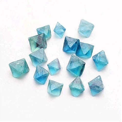 100g Blue Fluorite Octahedron Crystals