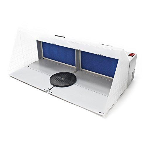 Airbrush Doppel Absauganlage 6 m³ / min Filter Farbnebel kombinierbar Zubehör